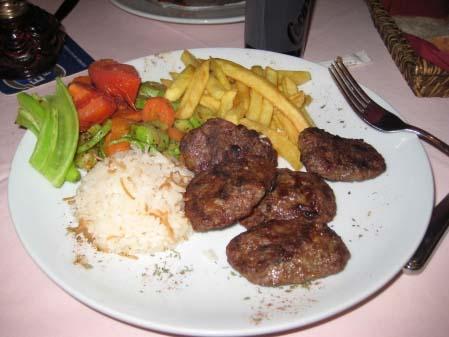 Turkish Food Week, Part V: Cigarette Bread, Meatballs and Pizza