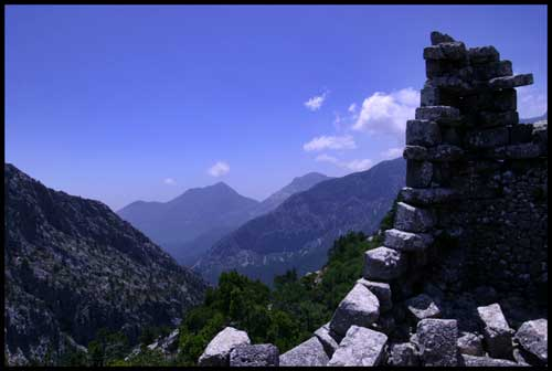 I've conquered a city that even Alexander the Great could not, Thermessos
