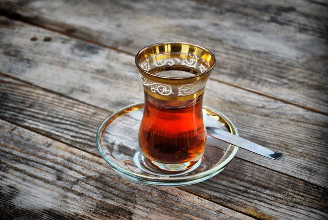 Let's drink Turkish tea!