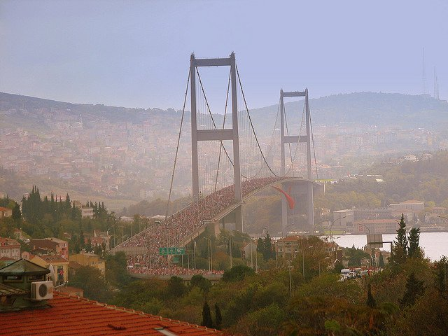 The Istanbul Marathon: Once-a-year Opportunity to Walk Over the Bosphorus Bridge