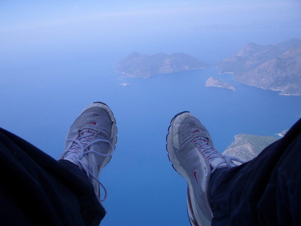 Paragliding in Olu Deniz